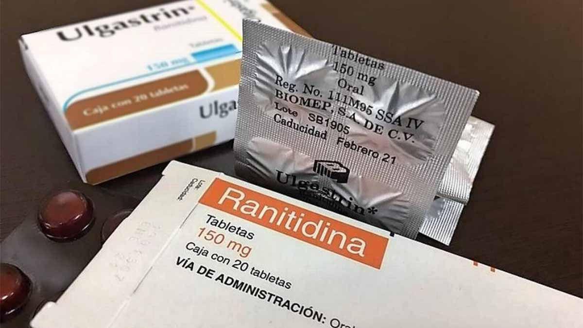 ANMAT ordenó suspender la venta de ranitidina en el todo el país