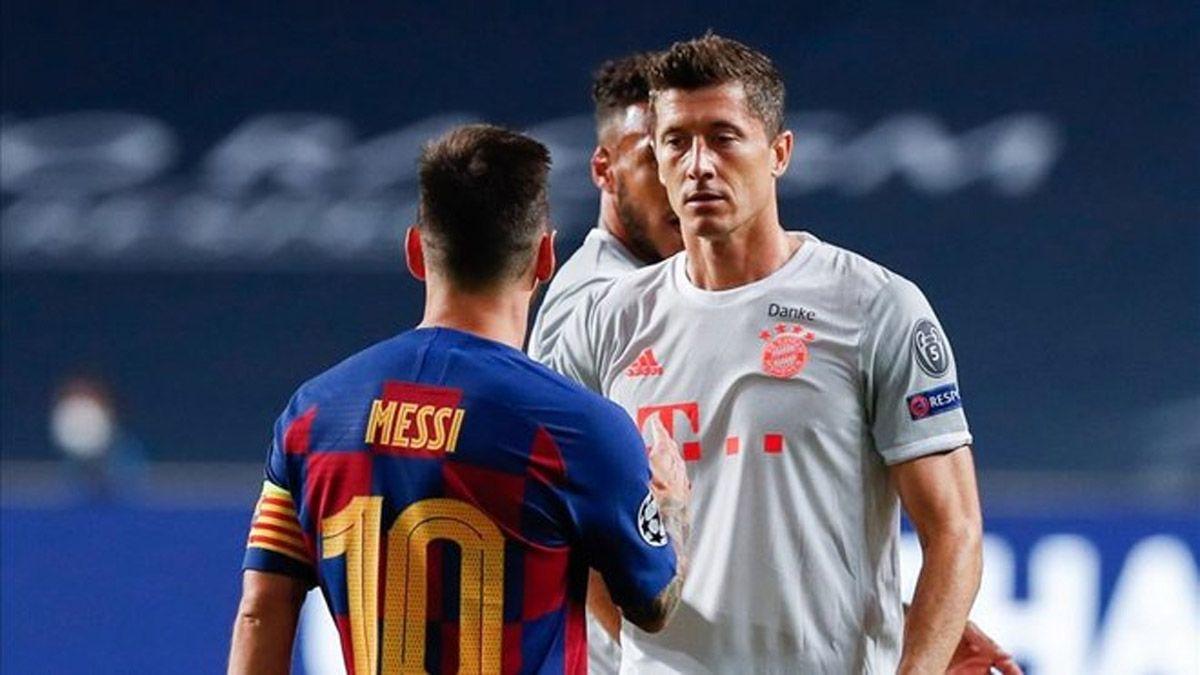 Messi integra el equipo ideal del 2020 de la IFFHS