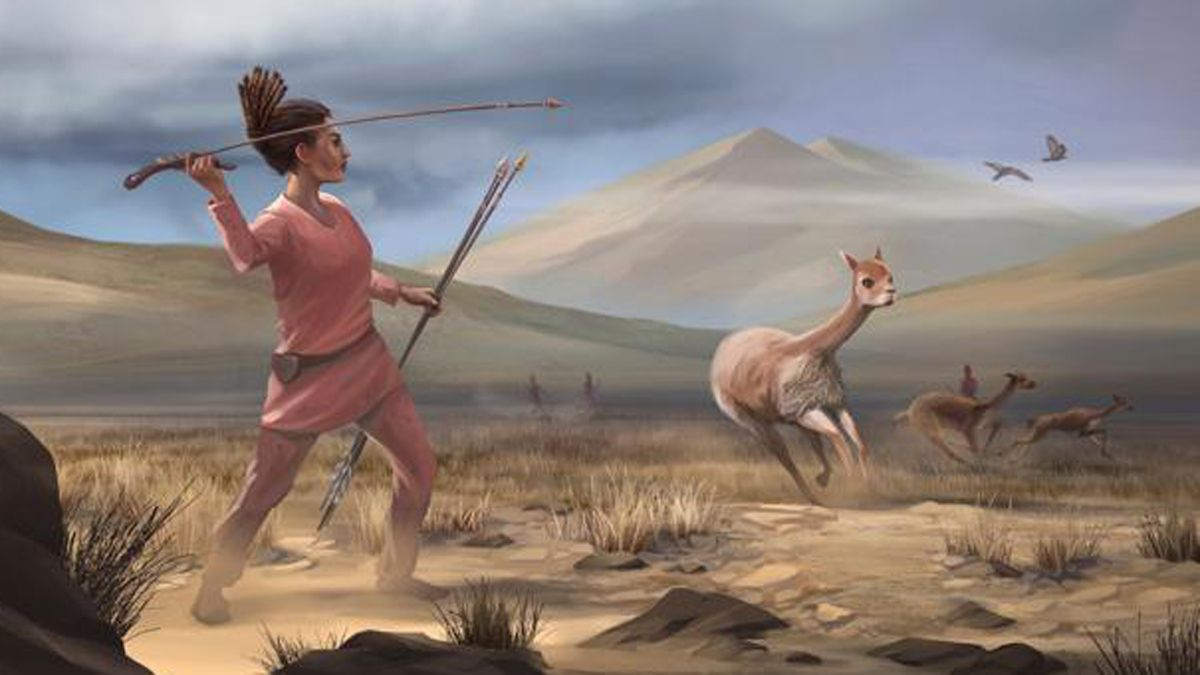 Mujeres cazadoras.