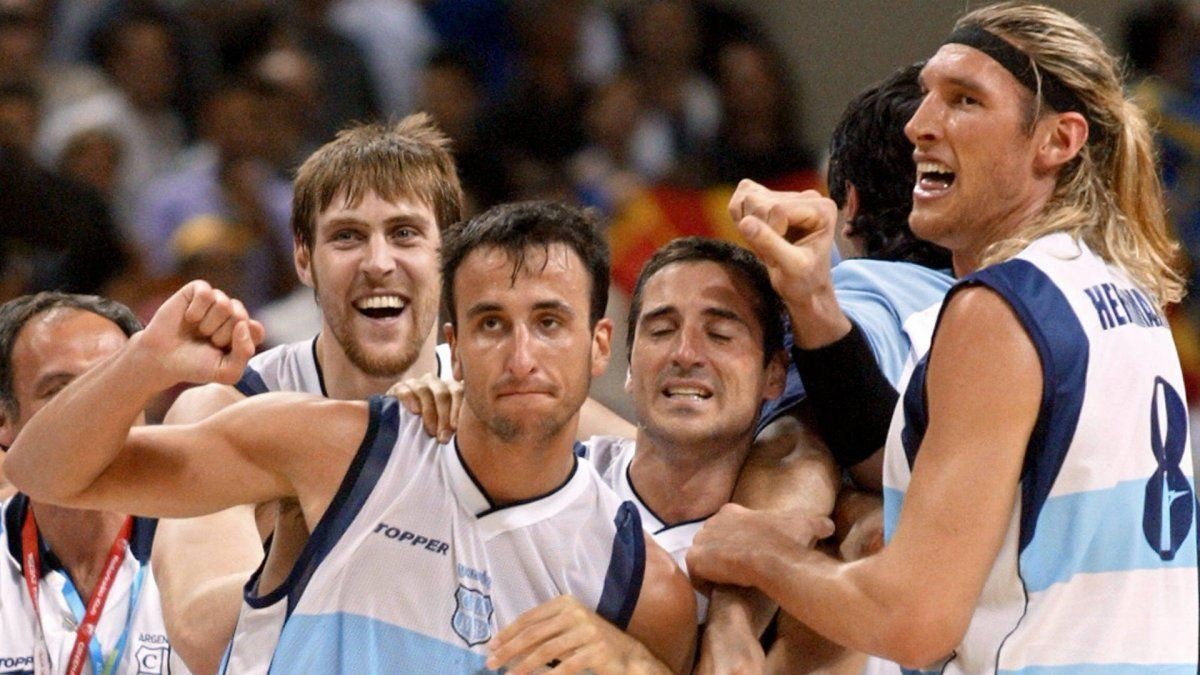 Argentina hizo historia en Atenas 2004.