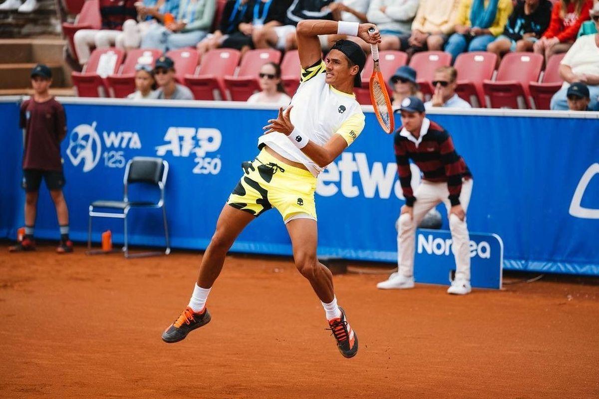 Federico Coria no pudo coronar su mejor semana en el ATP Tour.