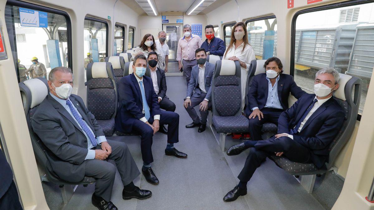 Salta:El ministro de Transporte de la Nación