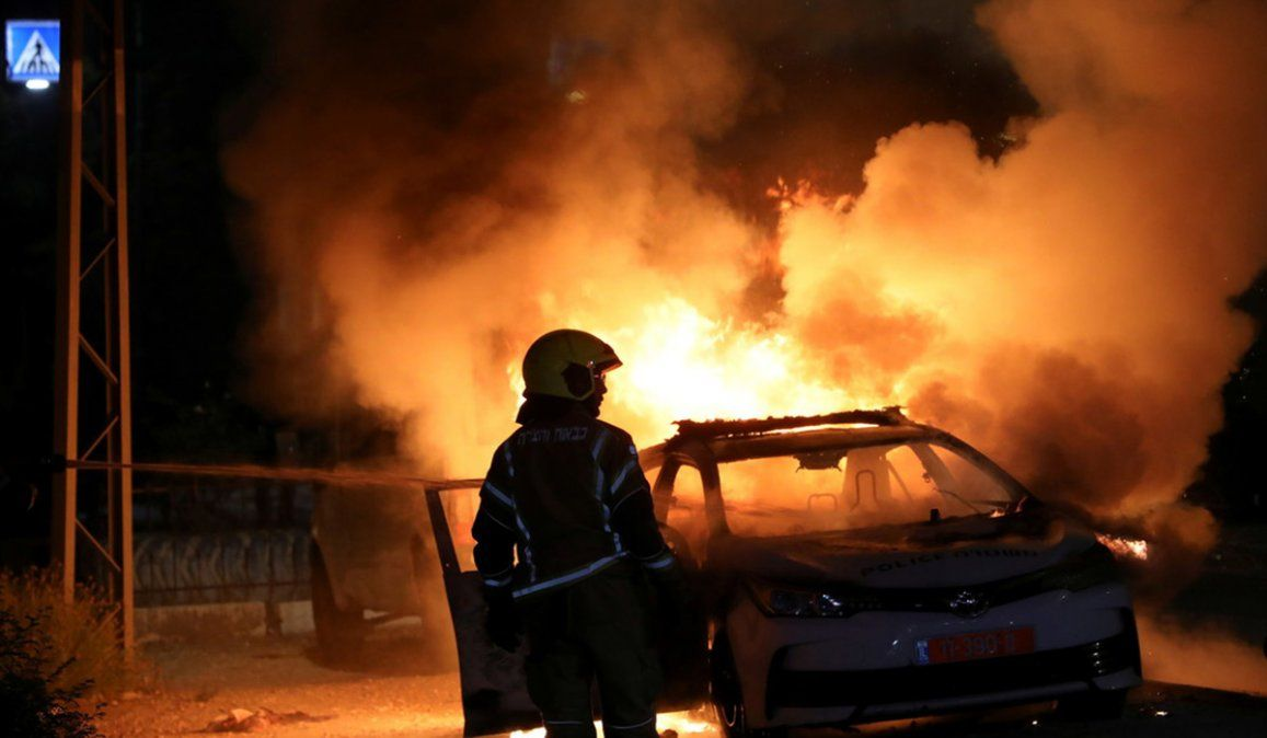 Por cuarto día consecutivos los bombardeos y ataques con cohetes se han intensificado en la Franja de Gaza entre israelíes y palestinos