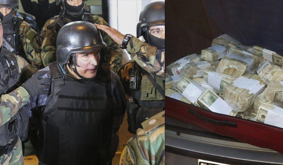 José López, el del bolso con 9 millones, podría salir de la cárcel