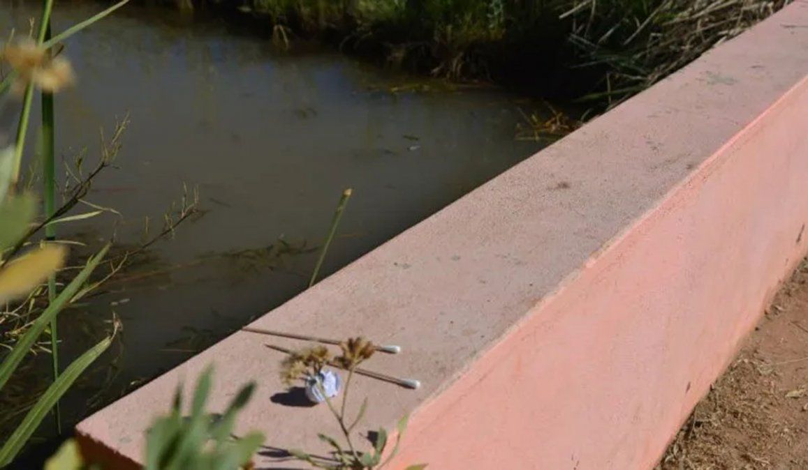 El canal en el que encontraron a Santiago Galdeano