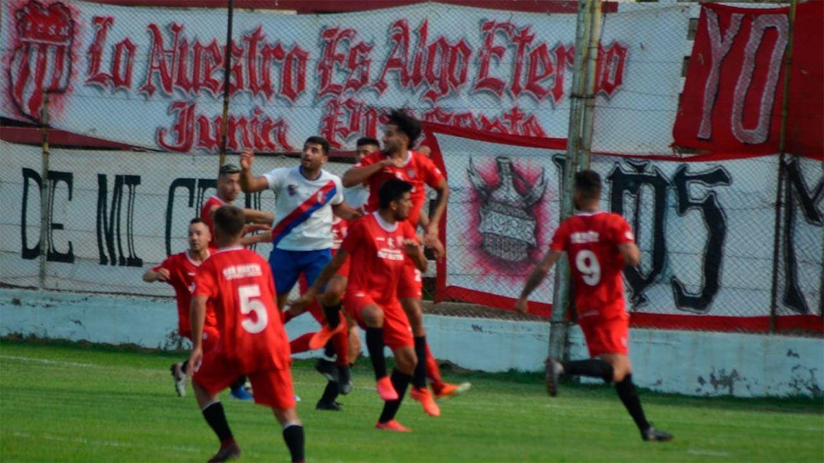 San Martín aplastó a Alianza Futbolística y es finalista