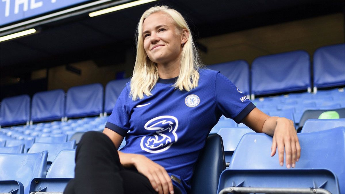 Pernille Harder pasó al Chelsea en la transferencia más cara