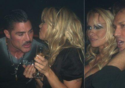 Ricardo Fort de fiesta con Pamela Anderson en Miami