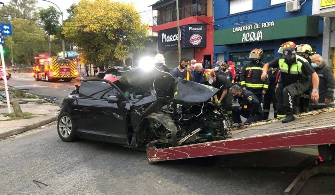 Quiénes son las hermanas que murieron en el choque del Audi en Lanús