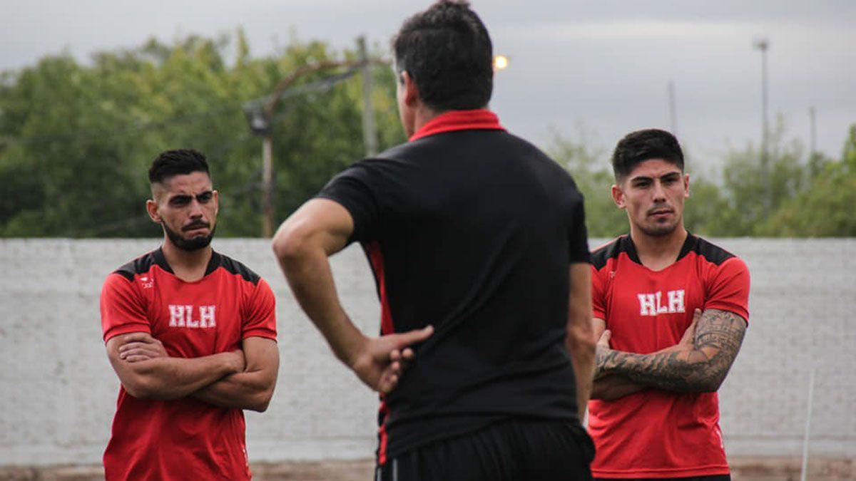 Luis Daher a la izquierda junto a juan Pablo Varona otros de los refuerzos.