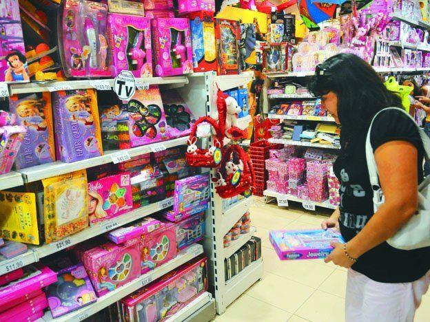 La comercialización de juguetes experimentó un leve crecimiento en esta Navidad.