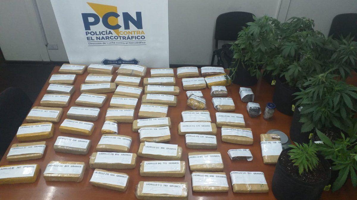 Narcotráfico en Mendoza: la droga que ingresaban al penal Boulogne Sur Mer.