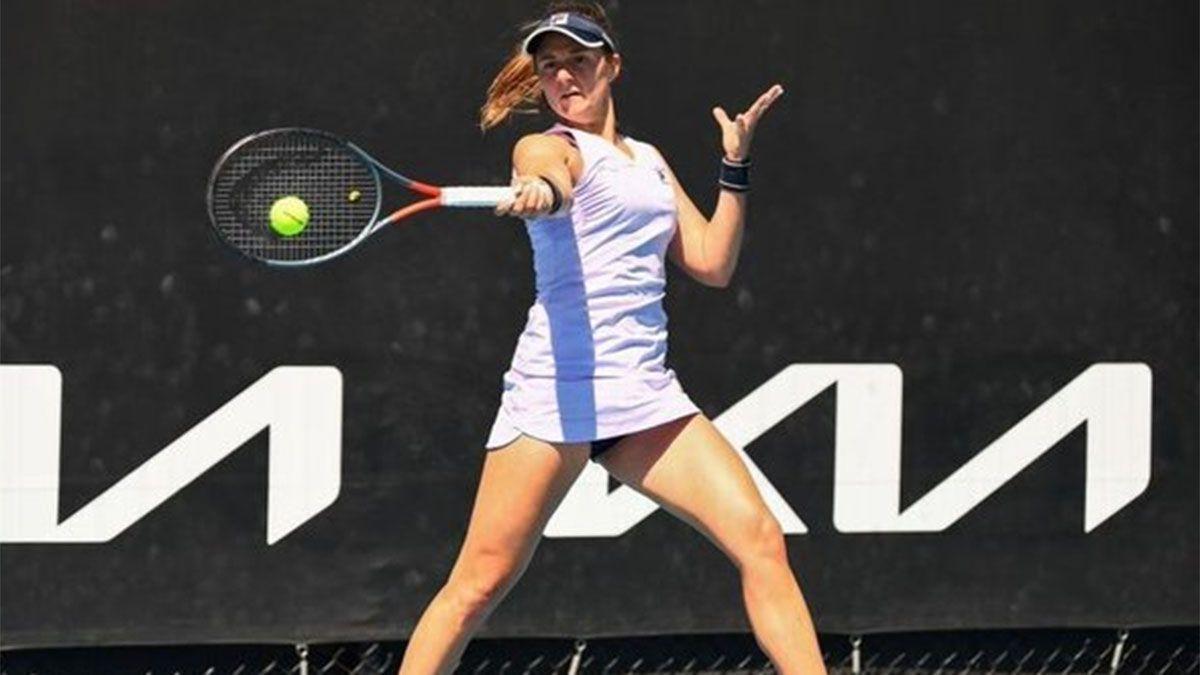 Nadia Podoroska avanzó en Roma y se medirá con Serena Williams