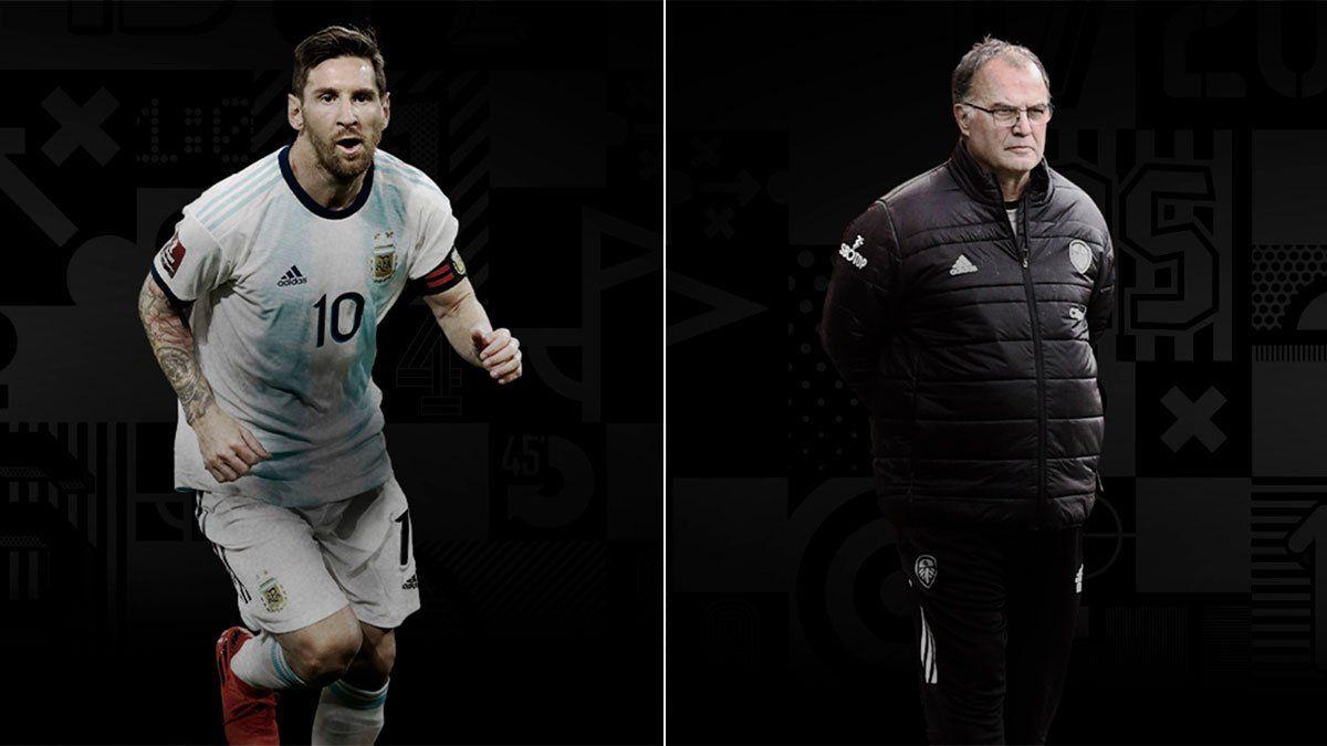 Messi y Bielsa, nominados al premio The Best de la FIFA