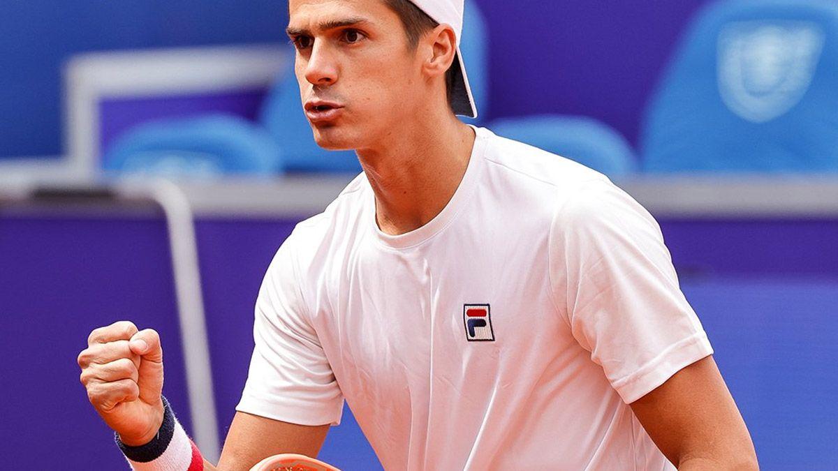 Federico Coria se metió en cuartos en Belgrado