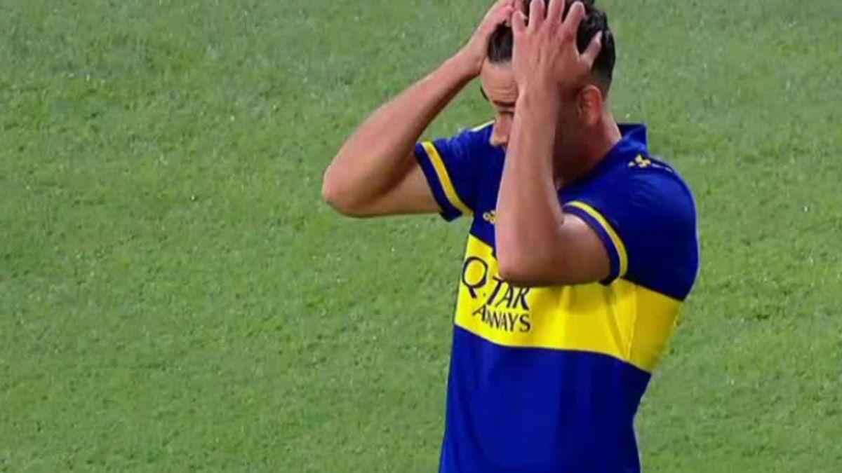 Maroni se morfó un gol casi hecho ante River