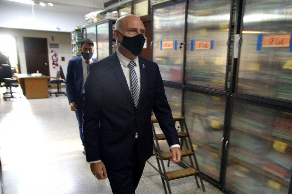 Dalmiro Garay, presidente de la Corte.