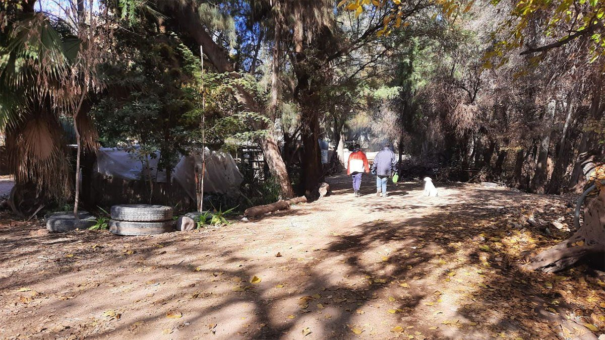 Falsos policías asaltaron a una familia y sus empleados en un vivero de Las Heras.