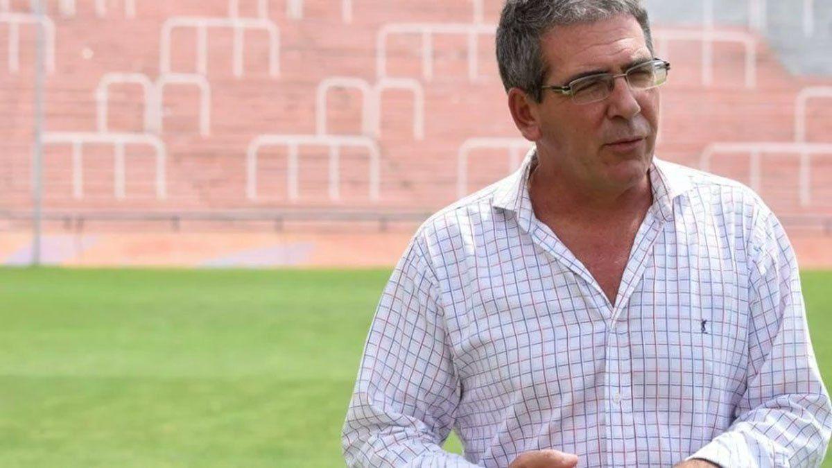 El Subsecretario de Deportes Federico Chiapetta.