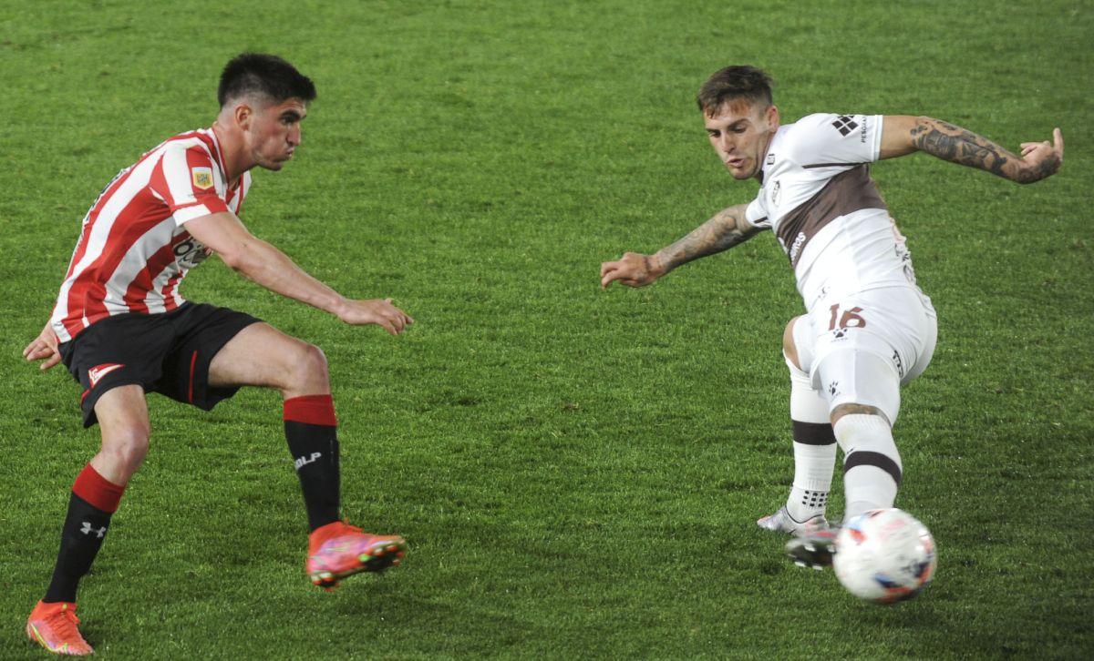 Estudiantes dejó escapar dos puntos ante Platense en la 13ra. fecha de la Liga Profesional de Fútbol.