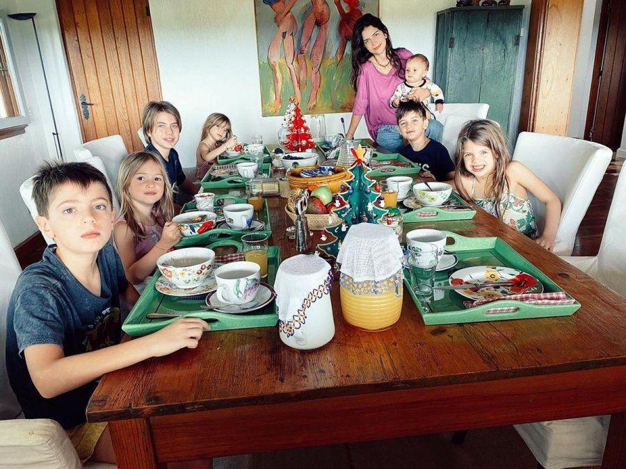 Zaira Nara y una foto bomba: Viviendo mi sueño