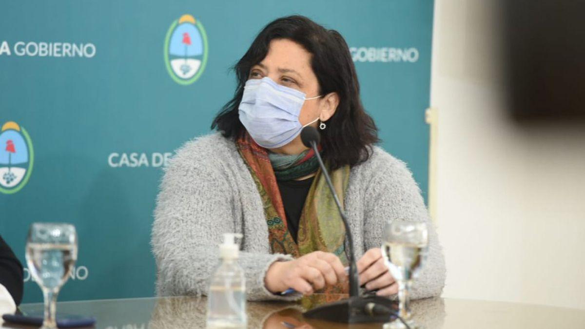 Iris Aguilar, jefe de Inmunizaciones de Mendoza.