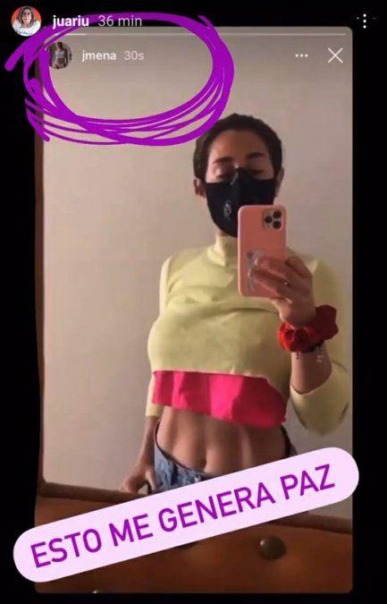 Jimena Barón volvió a mostrar su lomazo en Instagram pero se arrepintió