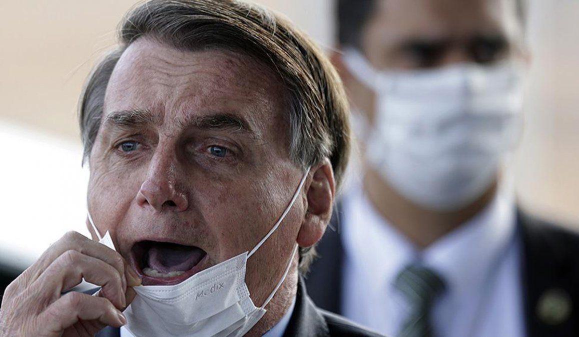 El presidente de Brasil Jair Bolsonaro defiende el uso de la hidroxicloroquina contra el coronavirus