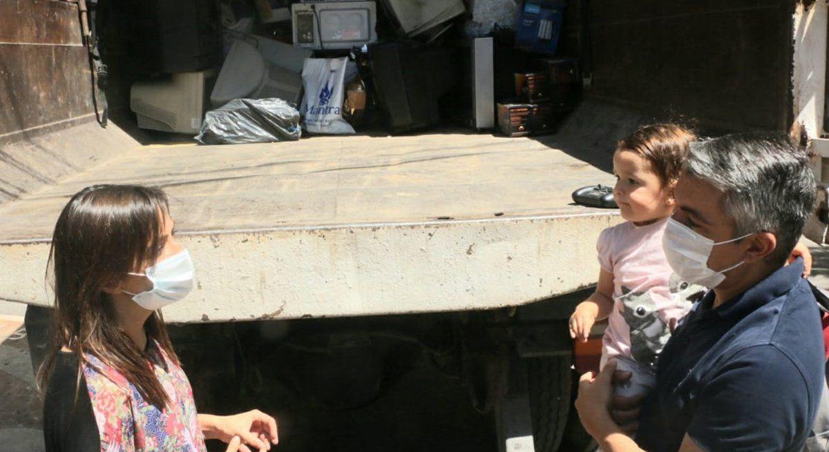 Luján recolectó más de 5 toneladas de residuos eléctricos
