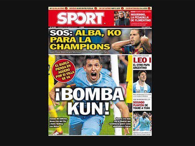 Agüero y Messi, ¿juntos en el Barcelona?