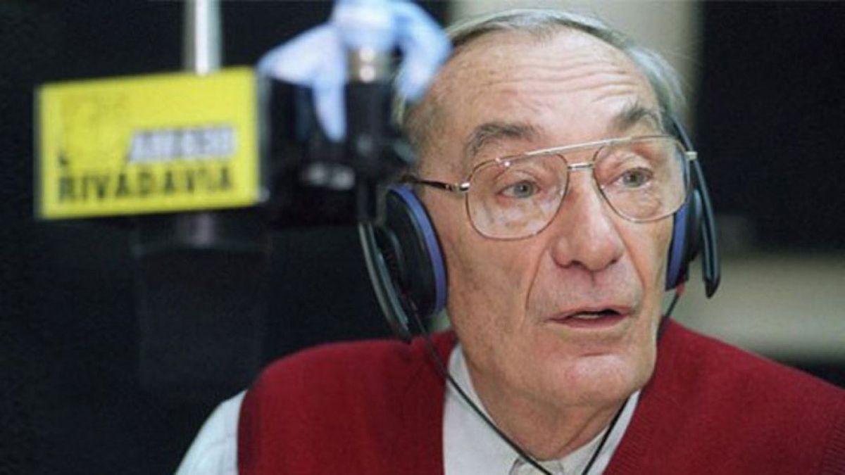 Antonio Carrizo falleció un 1 de enero de 2016.