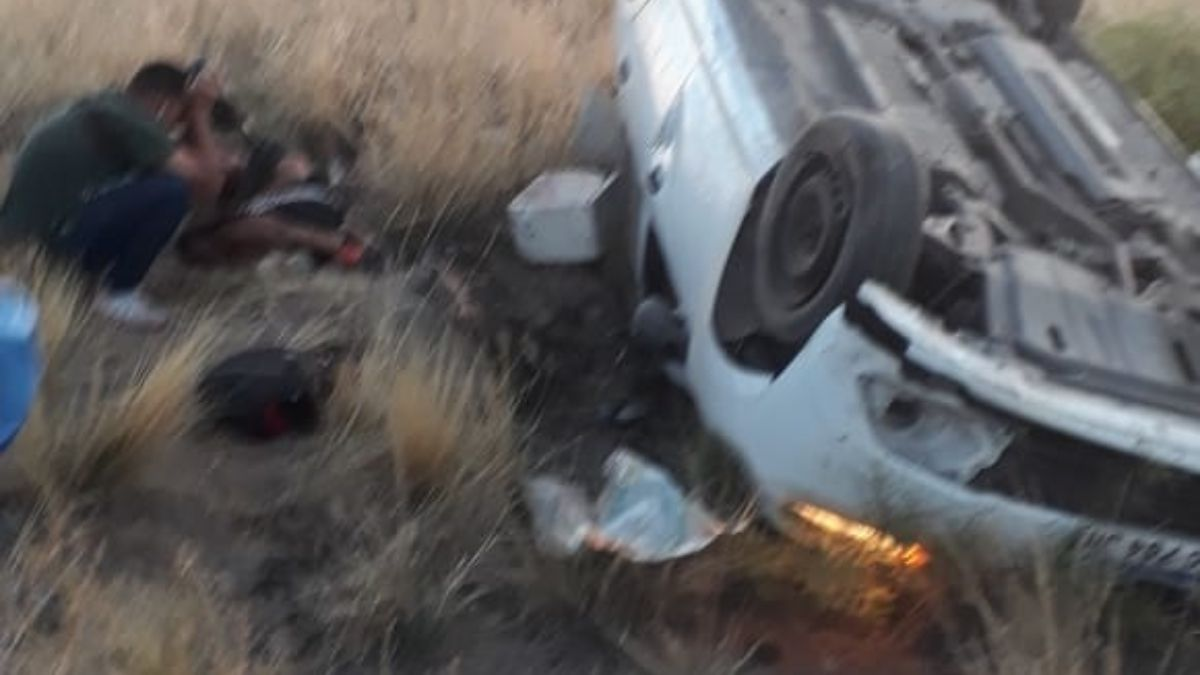 Así terminó el robo del remís Renault Logan