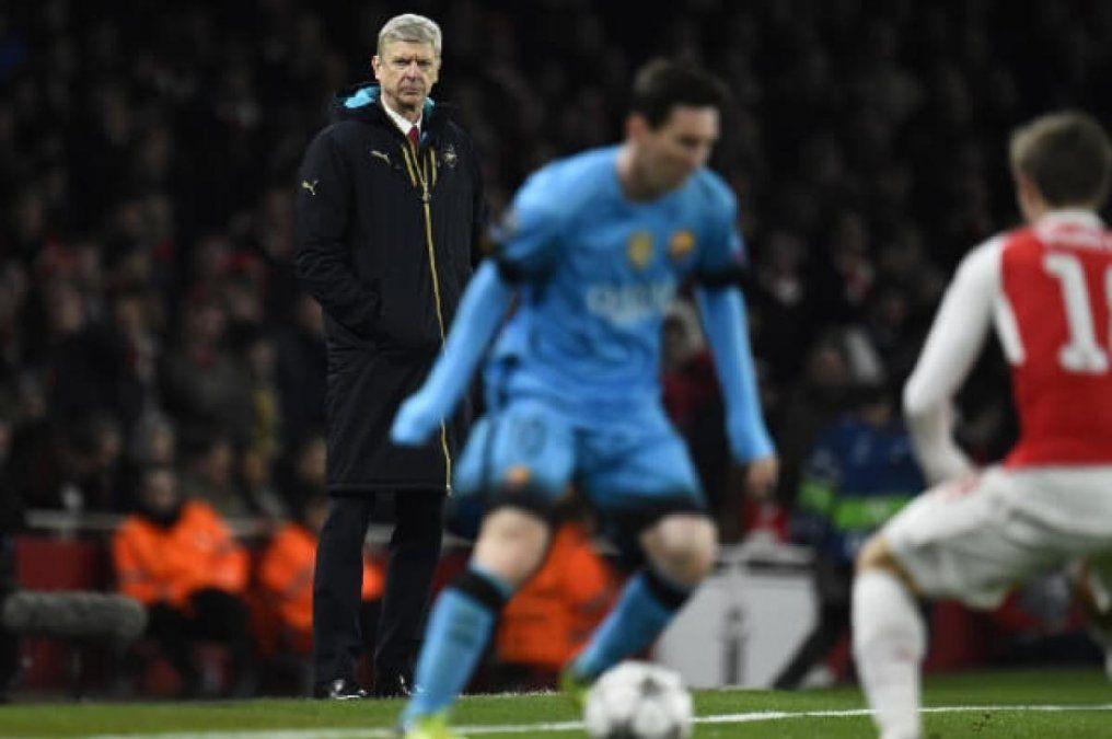 Arsene Wenger aconseja al PSG no contratar a Lionel Messi
