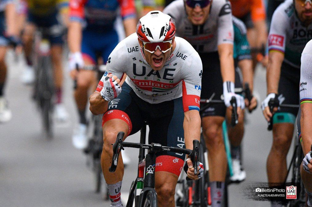 Kristoff se vistió de amarillo en el Tour de Francia