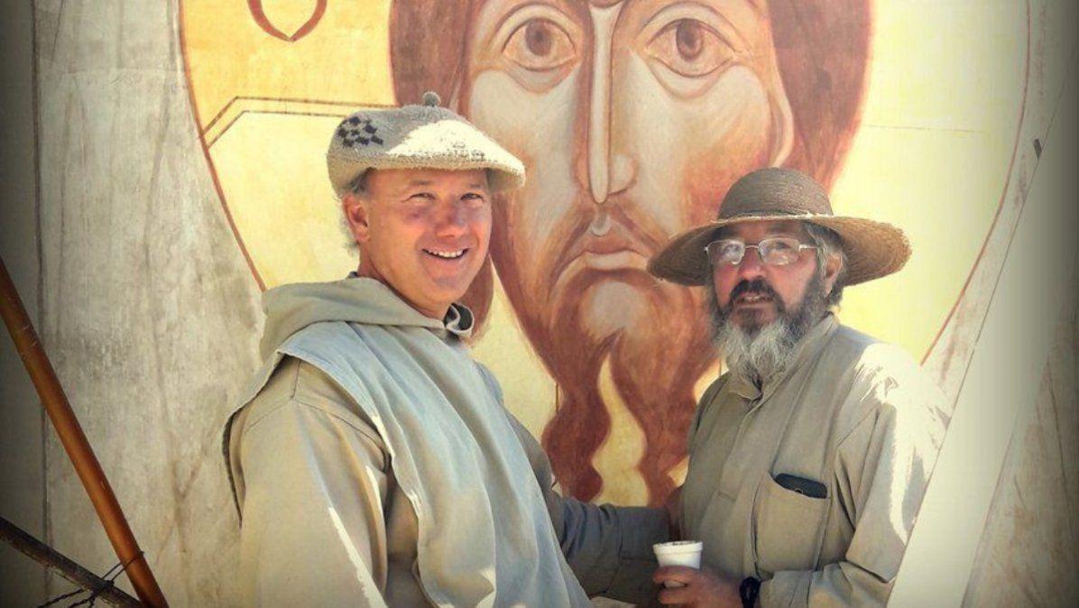 Los curas del monasterio Cristo Orante acusados del abuso sexual en Tupungato.