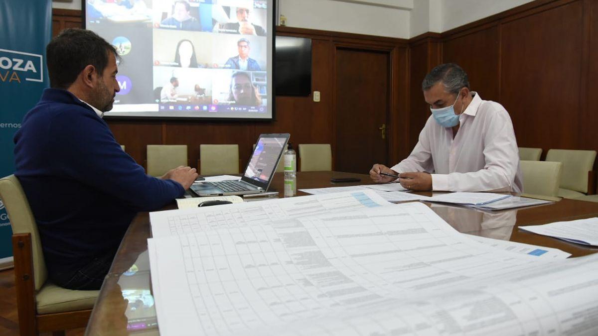 Mendoza presentó a la Nación un plan de obras e inversiones en contexto de pandemia