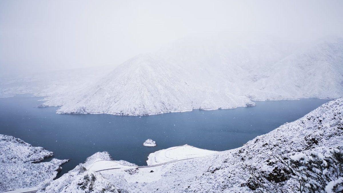 ¿Y la nieve en Mendoza para cuándo? Adelanto del pronóstico del tiempo para los próximos días de julio. Foto: Cacheuta y Potrerillos