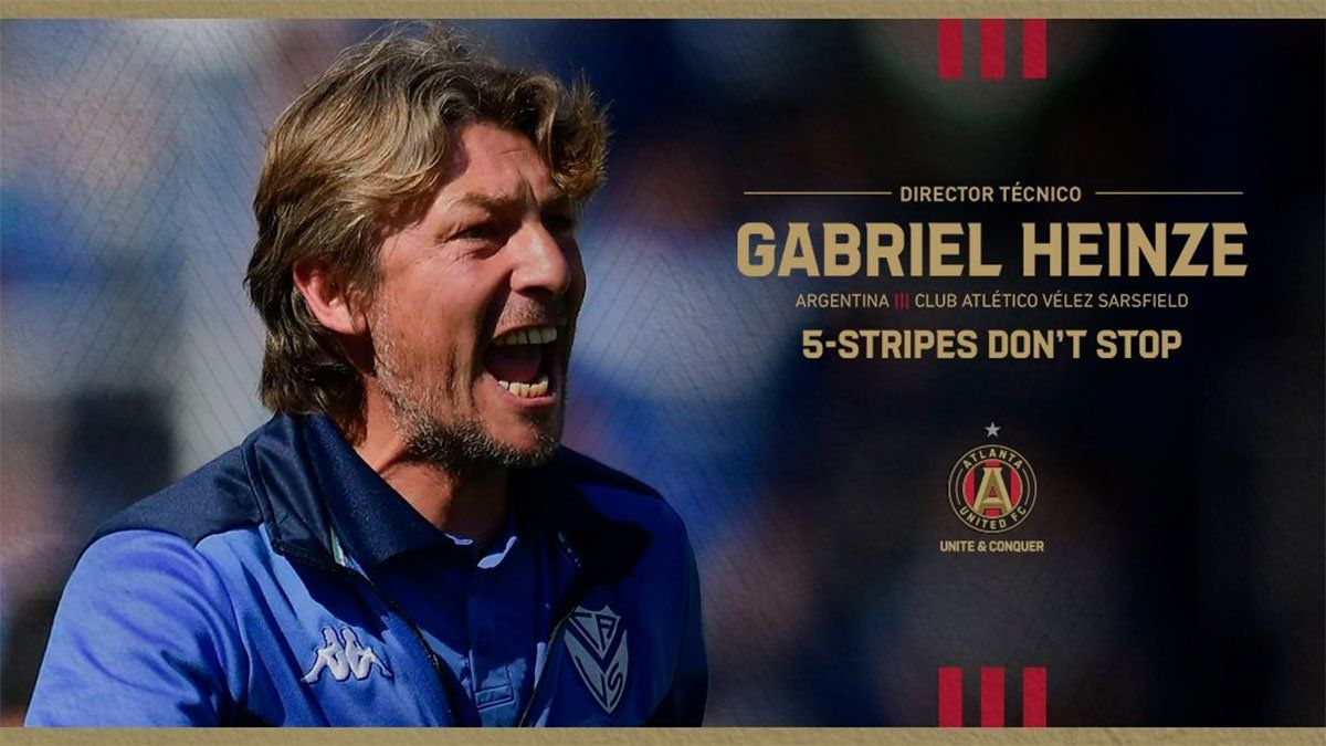 Gabriel Heinze fue oficializado como DT de Atlanta United