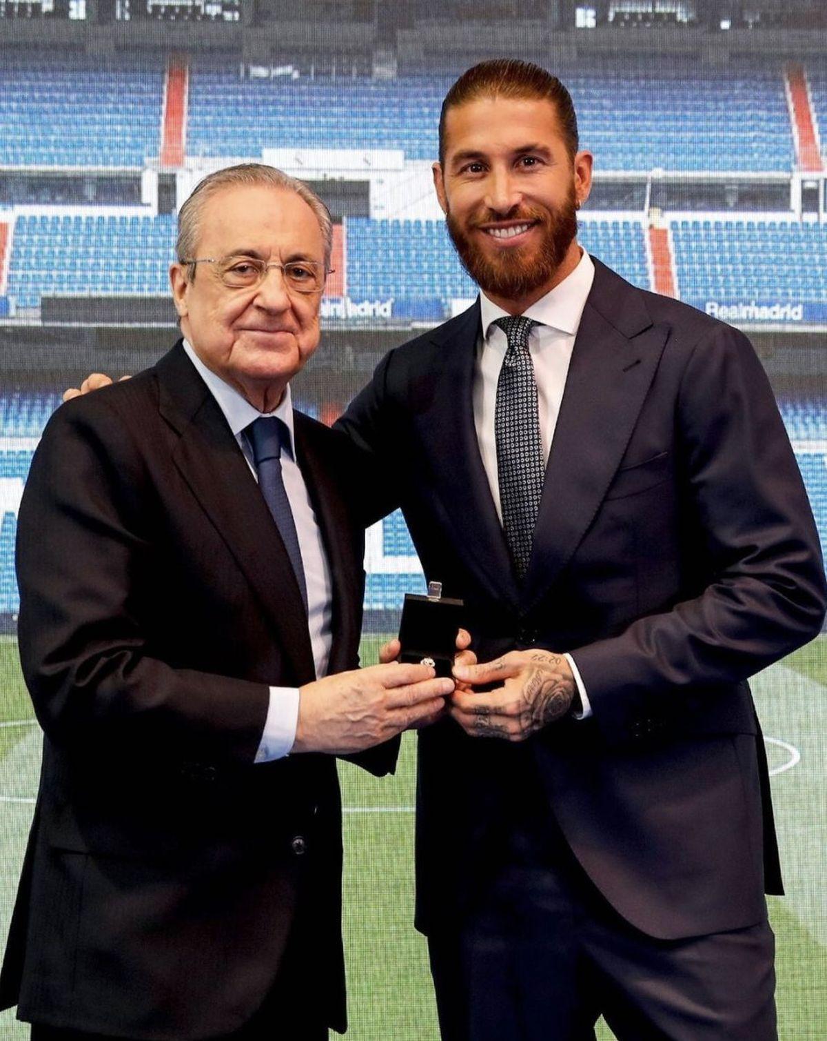Sergio Ramos se despidió del Real Madrid con todos los honores.