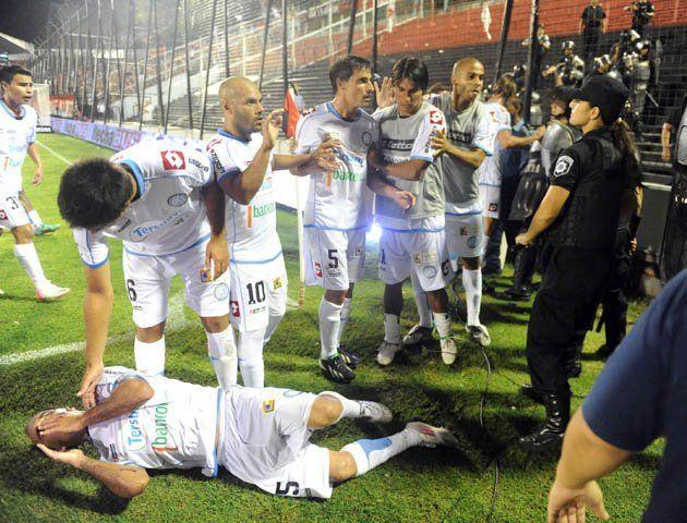 Lamberto reveló que la mujer policía reaccionó ante agresiones físicas de los jugadores de Belgrano
