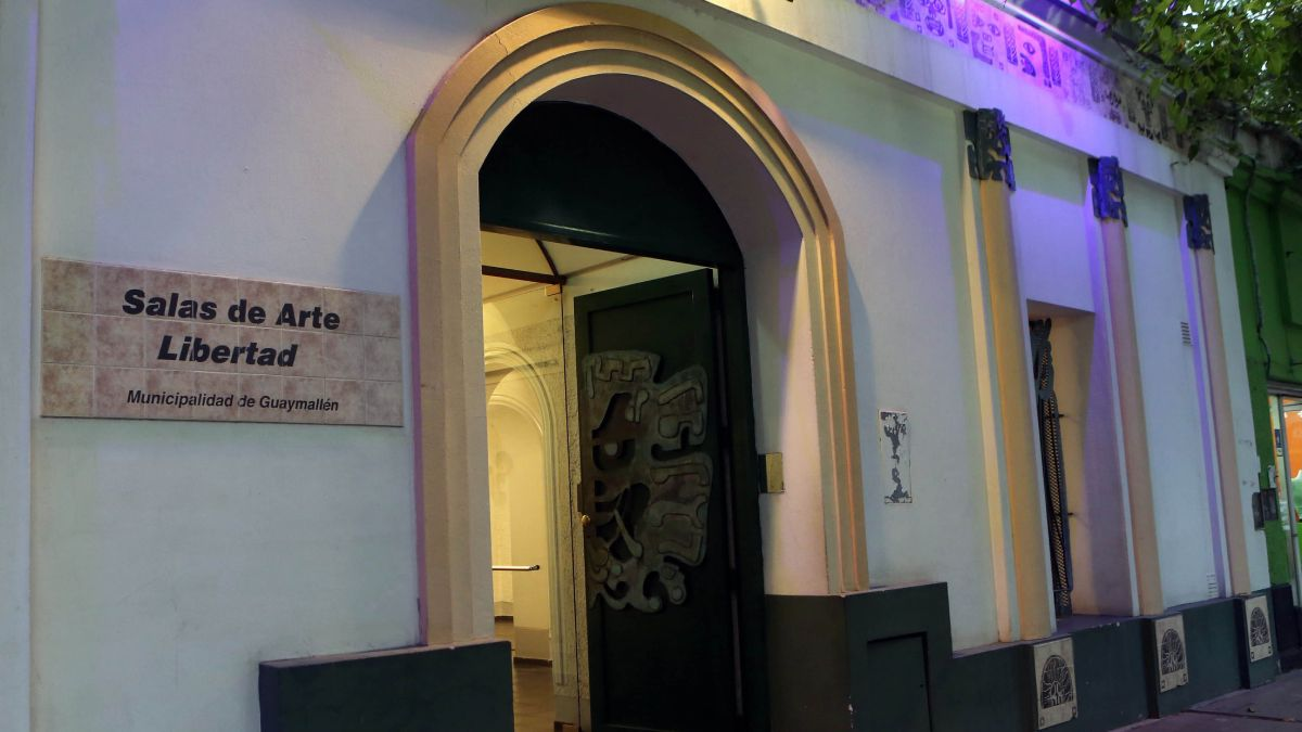 Las Salas de Arte Libertad son un orgullo para la comuna de Guaymallén