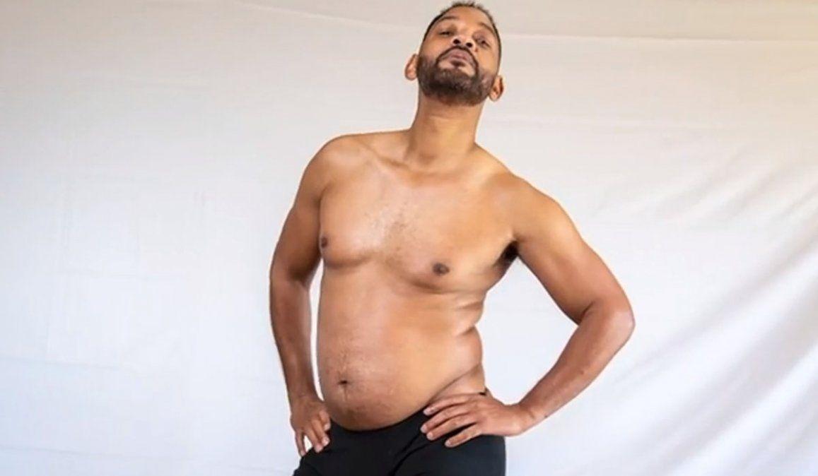 Las fotos de Will Smith con sobrepeso son furor en Instagram