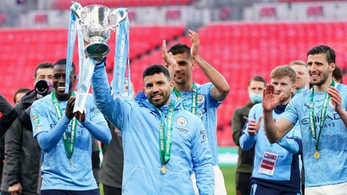 Manchester City se consagró campeón de la Copa de la Liga