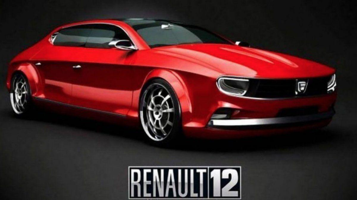 El Renault 12 parece un nuevo auto.