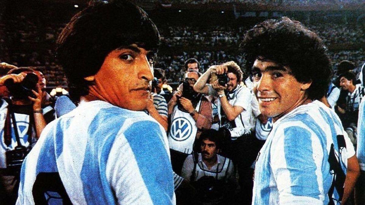 Ramón Díaz dio la nota al recordar a Maradona