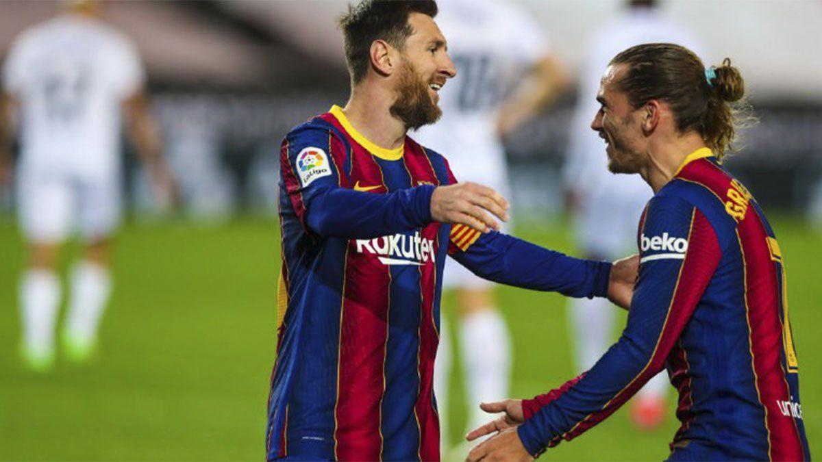 Barcelona apabulló al Huesca con dos golazos de Messi