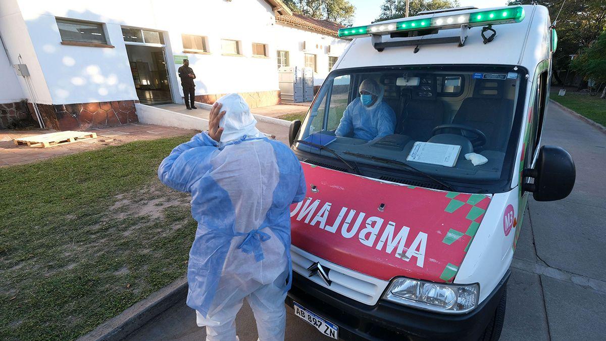 El ministerio de Salud indicó que son 6.644 los internados en unidades de terapia  intensiva con Covid en Argentina.
