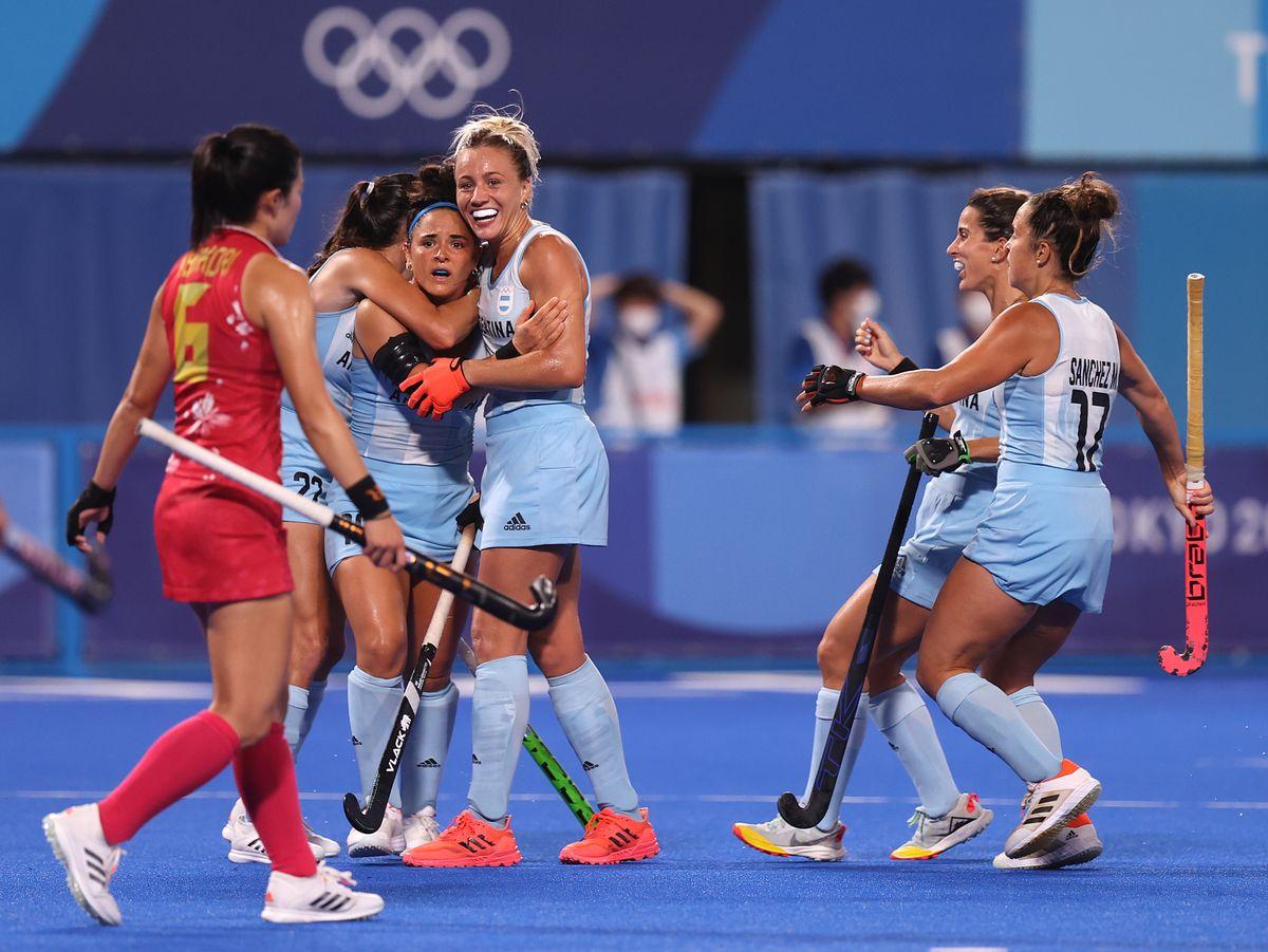 Las Leonas están clasificadas a cuartos en los Juegos Olímpicos 2021.