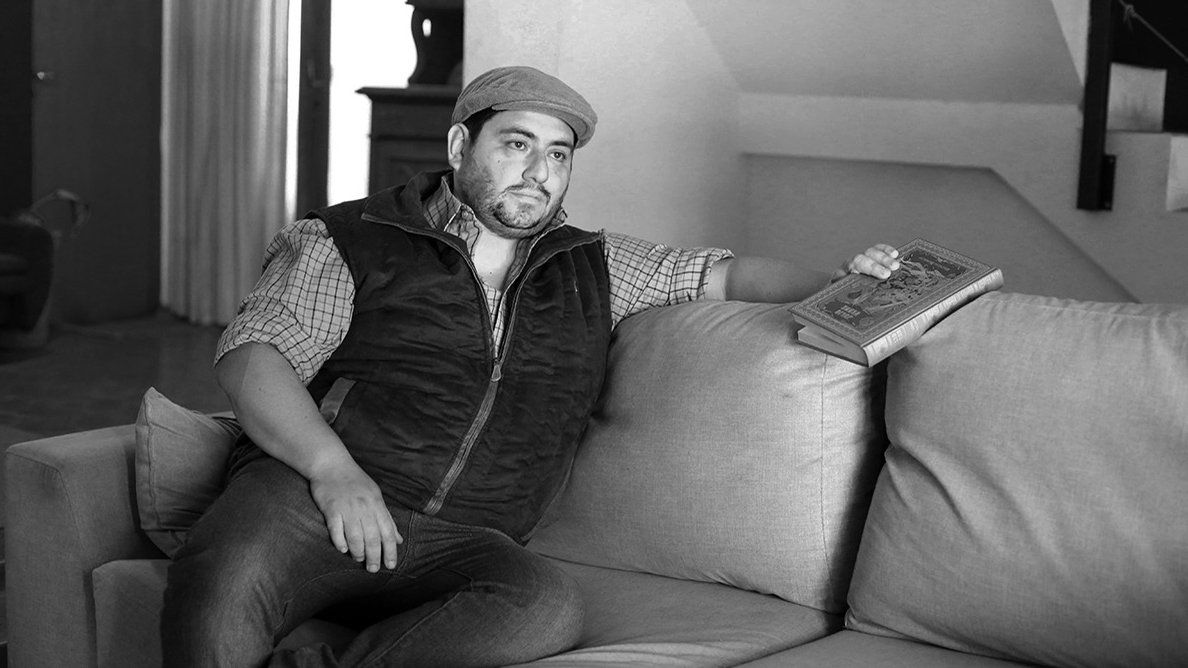 Dany Pacheco reconoce que es un escritor mendocino que pocos conocen acá