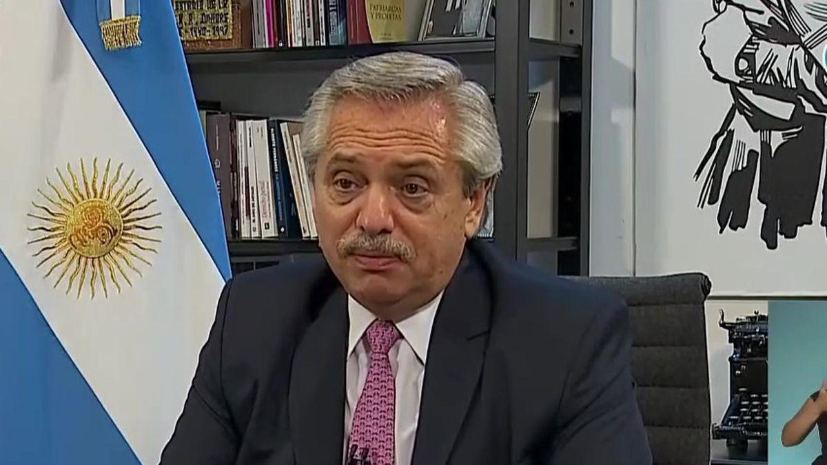 Alberto Fernández envió una carta al nuevo presidente de Estados Unidos
